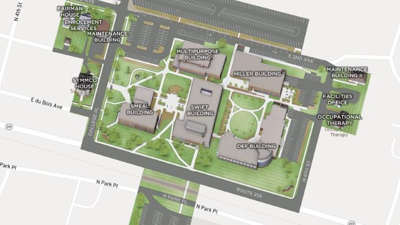 CampusBird Map Thumbnail
