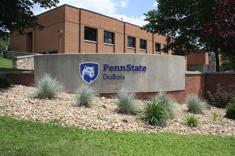 Penn State DuBois sign