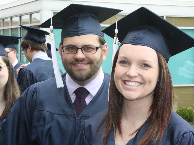 DuBois students on graduation day