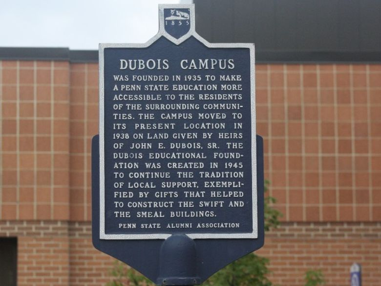 Historical Marker on campus