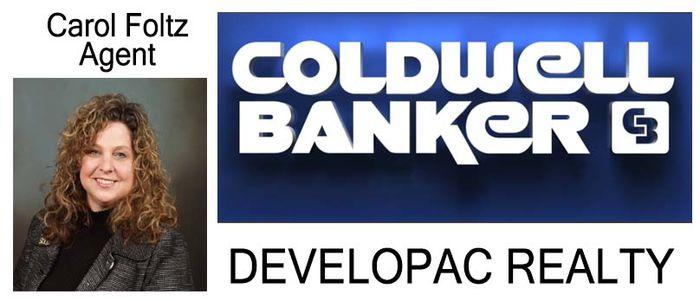 Carol Foltz, Coldwell Banker, Developac Realty