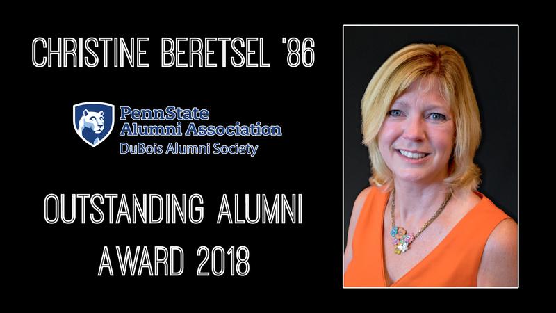 Christine Beretsel 2018 Distinguished Alumni