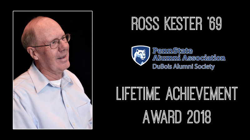 Ross Kester 2018 Lifetime Achievement