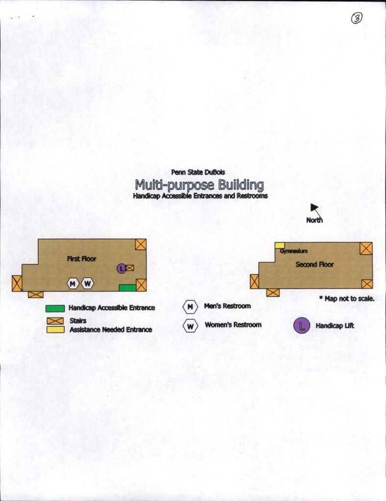 Accessibility Maps, Multipurpose Building