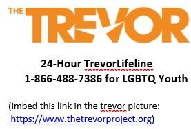 The Trevor Project 24 Hour TrevorLifeline